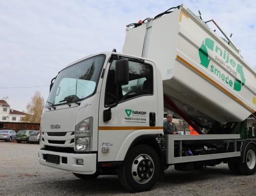 Ivakop nabavio novo komunalno vozilo