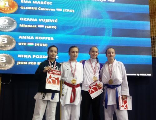 Karatisti Mladosti u vrlo jakoj konkurenciji osvojili dva odličja