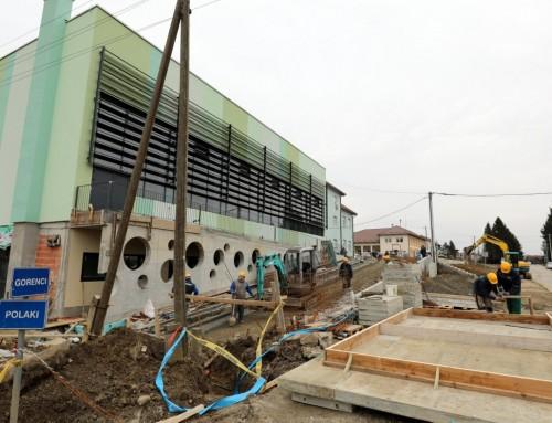 Do travnja ove godine završetak gradnje sportske dvorane u Posavskim Bregima