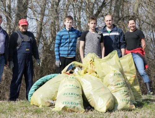 Na području Ivanić-Grada održan prvi dio volonterske akcije Zelena čistka