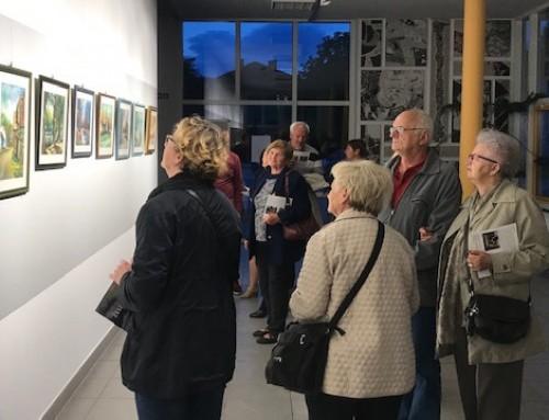 U POU Ivanić-Grad otvorena izložba kutinskog slikara Želimira Šiška