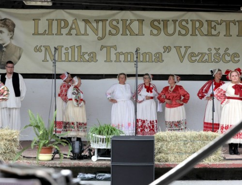 Održani još jedni Lipanjski susreti Milke Trnine u Vezišću