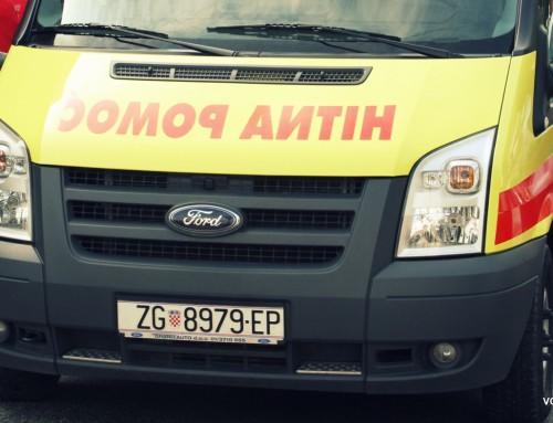 Beba iz okolice Vrbovca noćas rođena u vozilu Hitne pomoći