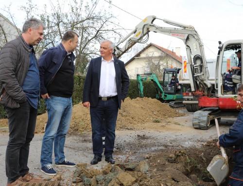 Početak rekonstrukcije ulice A.G.Matoša u Ivanić-Gradu