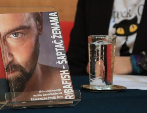 """Predstavljena knjiga """"Šaptač ženama"""" Domagoja Jakopovića Ribafisha"""