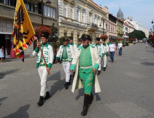 Članovi povijesne postrojbe 10.satnije Ivanić sudjelovali na Europskom okupljanju u Mađarskoj