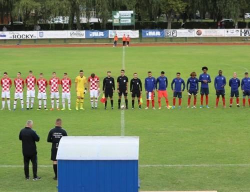 U Ivanić-Gradu Hrvatska U-19 reprezentacija remizirala s Francuskom