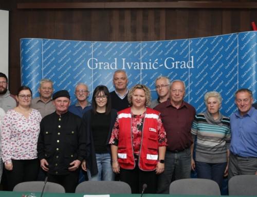 Povodom Dana dobrovoljnih davatelja krvi gradonačelnik primio darivatelje s područja Ivanić-Grada