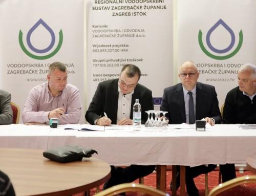 Uskoro kreće izgradnja vodocrpilišta Kosnica vrijedna skoro 40 milijuna kuna