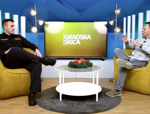 Gradska skica – zapovjednik JVP Ivanić-Grad Dario Kezerić