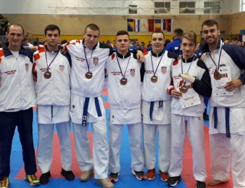 Uspješan nastup karatista KK Mladost na 20. Balkanskom prvenstvu u Brežicama