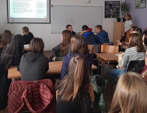 Erasmus+ projekti –  razmjena iskustava SŠ Ivan Švear Ivanić-Grad i  Ekonomske i turističke škole Daruvar