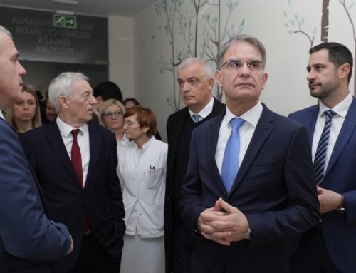 Ministar turizma Gari Cappelli i župan Zagrebačke županije Stjepan Kožić posjetili specijalnu bolnicu Naftalan u Ivanić-Gradu