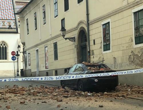Vatrogasne intervencije zbog posljedica potresa u Zagrebu