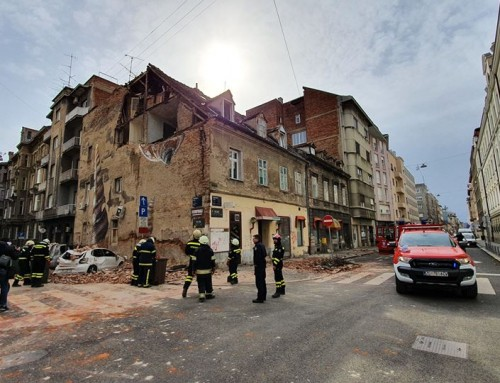 Vatrogasci saniraju posljedice potresa i gase velik broj požara