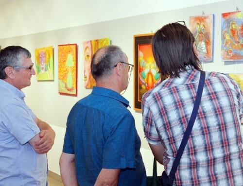 Otvorena likovna izložba INFRA grupe -U sinergiji znanosti i umjetnosti