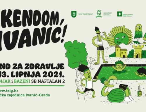 Aktivni vikend za zdravlje – kretanjem, vježbanjem, plivanjem i opuštanjem u Ivanić-  Gradu