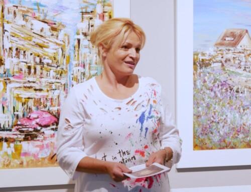"""Otvorena izložba """"Nastajanje i nestajanje"""" slikarice Marine Srac"""